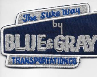 Vintage Trucking & Van Lines Blue