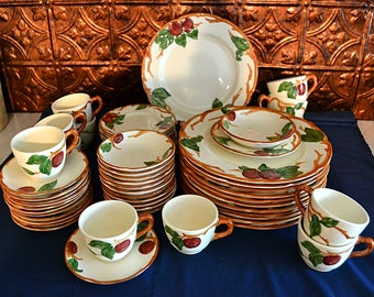 Franciscan Apple Dinnerware Set, Franciscan Apple Dishes