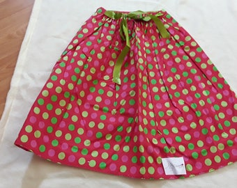 Skirt Green Ribbon 10/12 years