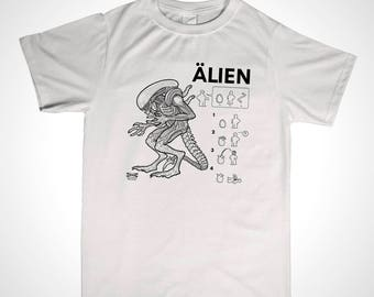 Alien IKEA Tshirt inspired design