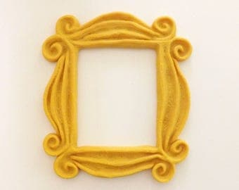 New Friends Frame TV Show Monica Photo Frame Door Yellow, 6 inch