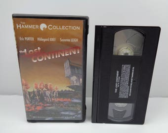 The Lost Continent Eric Porter VHS