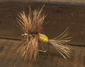 Humpy Yellow Trout Flies 6 Pack