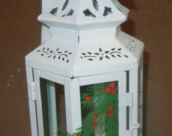 White Hexagon Lantern