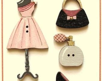 Fashion button