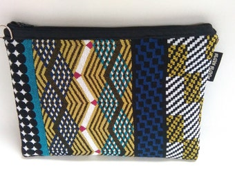 Ethnic bag blue and green