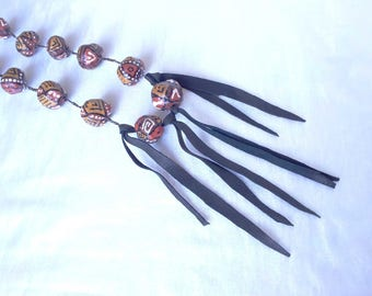 Long necklace African aborigine