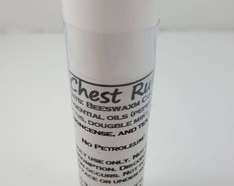 All Natural Chest Rub