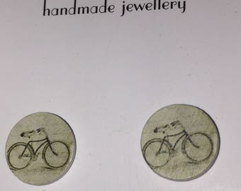 Bicycle studs.