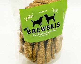 Dog Brewskis: Homemade Dog Treats using grain from craft beer brewing