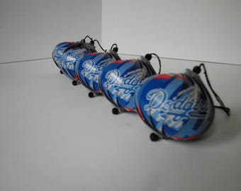 Los Angeles Dodgers Ornaments : Single or Set of 5
