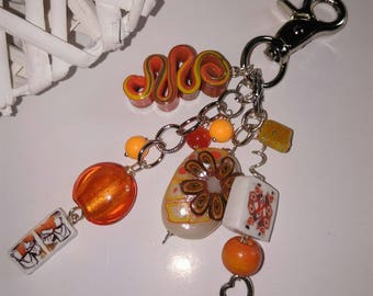 key holder in the colors of the Sun
