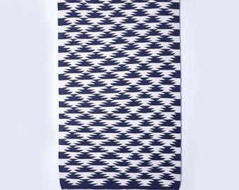 Esch Navy - Hand Knotted Cotton Rug