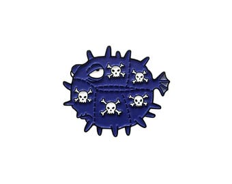 Poison Blowfish Pin