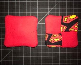 Superman Theme Mug Rug