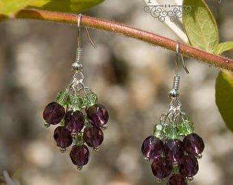 Earrings Lavender - spring / summer 2015 Once Upon a Fantasy