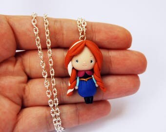 OUTLET! Sale! Anne Frozen in fimo