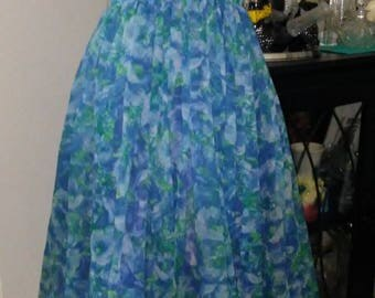 1950's Chiffon Party Dress