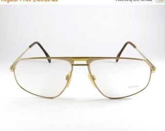 ON SALE Vintage Glasses Frames, Jaguar 339-800, Mens Glasses, Vintage Sunglasses, 80s, Optical Frame, Mens Sunglasses, Gift for Him, Aviator