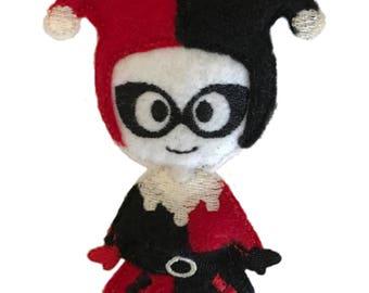 Harley Quinn inspired Catnip Toy
