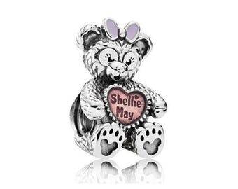 New Authentic Pandora Charm Bead Disney Parks Exclusive Shellie May Bear 792130ENMX