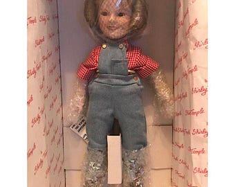 "Danbury Mint Shirley Temple Doll ""Rebecca of Sunnybrook Farm"""