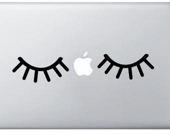 Lashes - Laptop Decal - Car Decal - Sticker