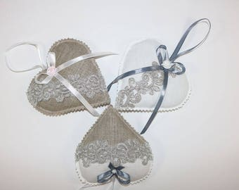 Lavender Hearts-Gipiura Collection