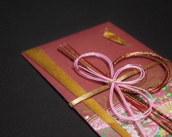 """36.Mizuhiki envelopes This envelope is used for each celebration. A special envelope called """"noshibukuro"""""""