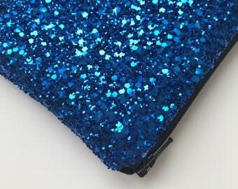 Royal blue evening bag, electric blue evening bag, blue evening bag, clutch bag blue