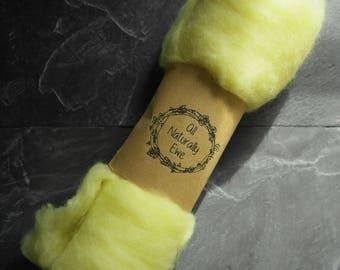 Naturally Dyed Merino Wool Batt