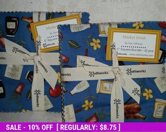 SALE! Market Fresh - Charm Pack - Clothworks by Dan DiPaolo