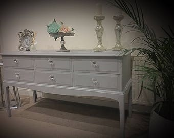 A stag minstrel console table/dresser