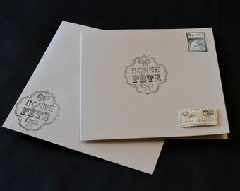 Cute happy birthday card with envelope provided and matching