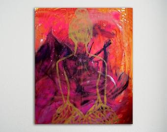 Schilderij - Chaos