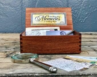 Wooden Keepsake box - Memory box
