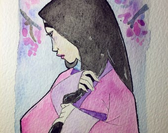 Mulan Original Art