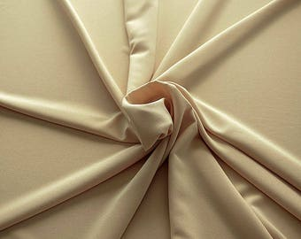 905128-Crepe 100% Polyester, width 150 cm, made in Italy, dry washing, weight 306 gr