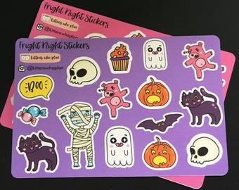 Fright Night Stickers