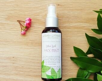 Lotus Leaf Face Mist. Organic Face Mist. Natural organic skincare. Organic Toner.
