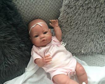 Reborn baby girl,fake baby,so pretty!!