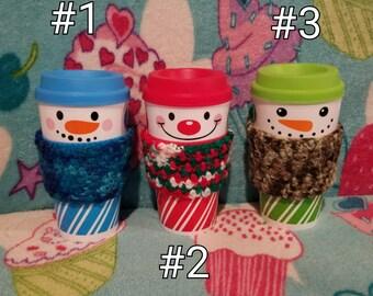 Multi-Colour Cup Cozy