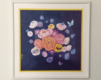 Cosmic Garden Limited Edition Art Print