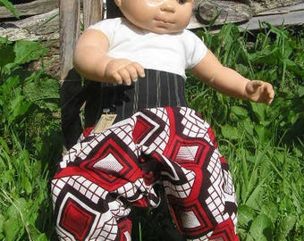 Harem pants rare wax Akwaba creations 3months order