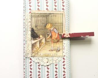 Junk journal travelers notebook insert