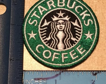 Starbucks Coffee Embroidered Patch