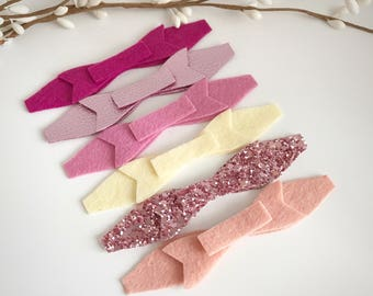 Pink lushness bow pack