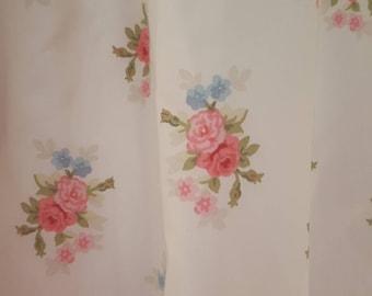 Vintage Laura Ashley Isabelle Drape pair