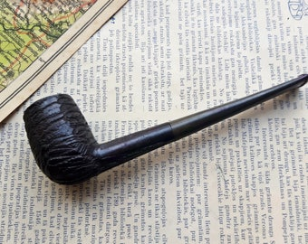 Vintage Germany Bruyere Garantie Smoking Pipe,Germany Wooden smoking Pipe with Bakelite Stem