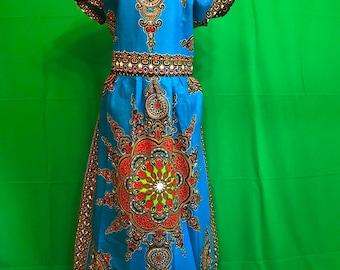 Dashiki Print Plus size Dresses